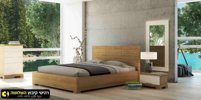 חדר שינה מעוצב אביב