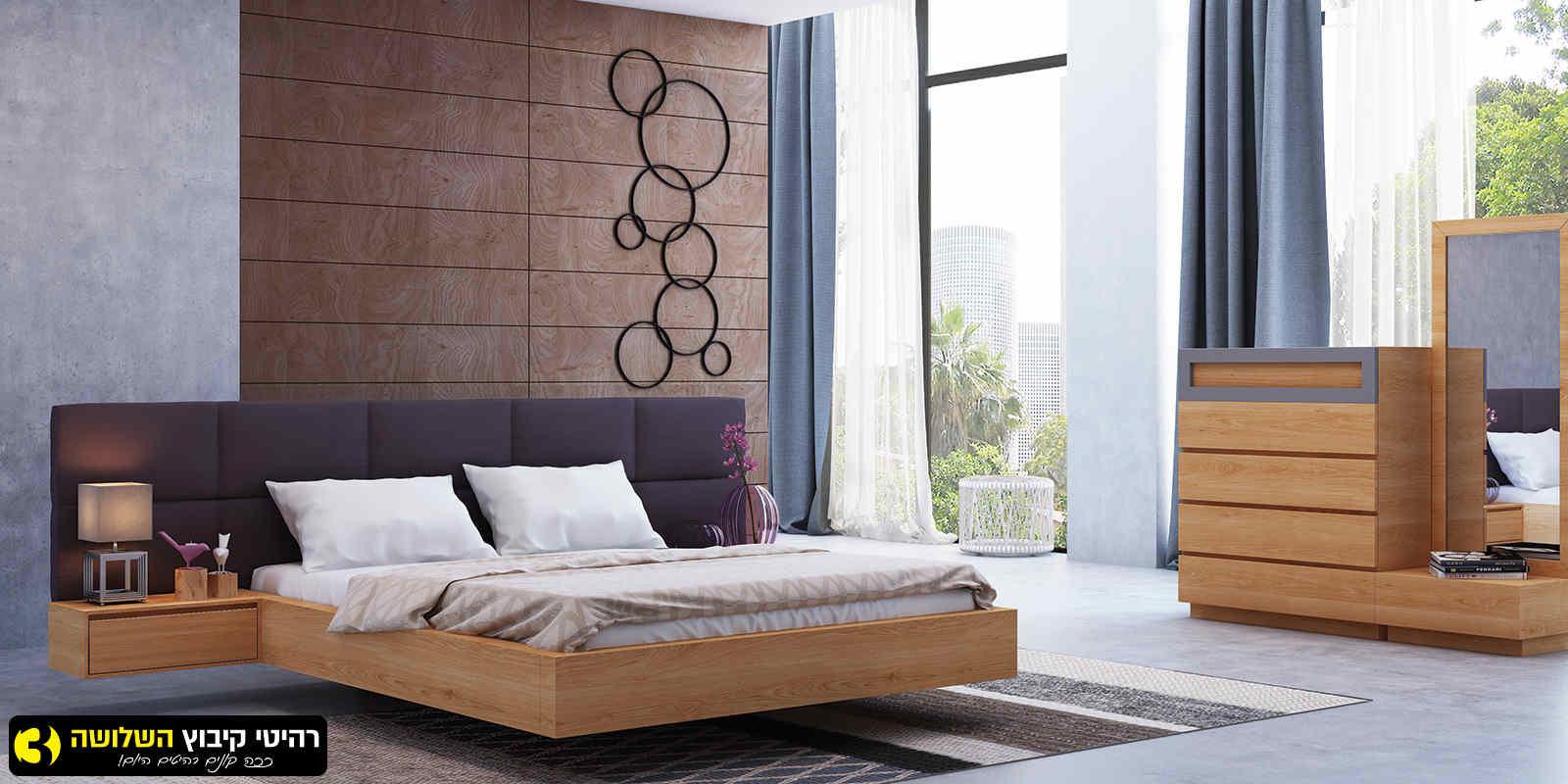 חדר שינה מעוצב אגם