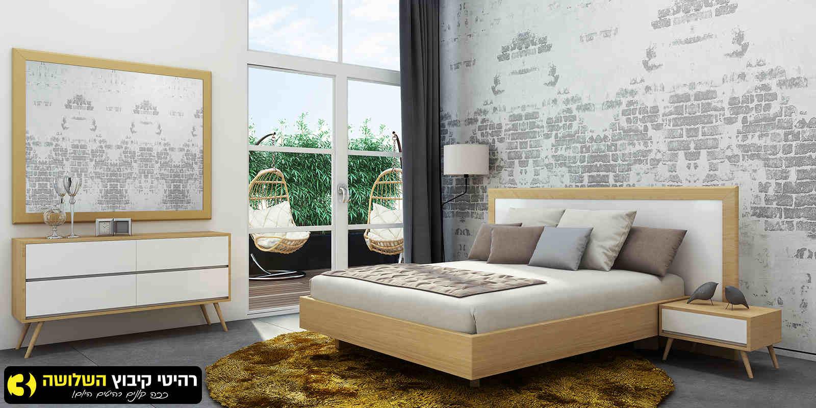 חדר שינה מעוצב אושרי