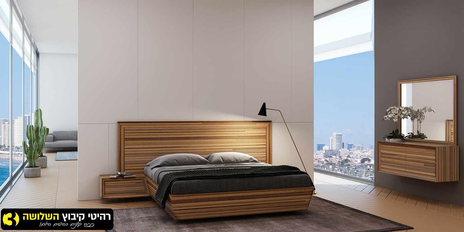 חדר שינה מעוצב מוזה