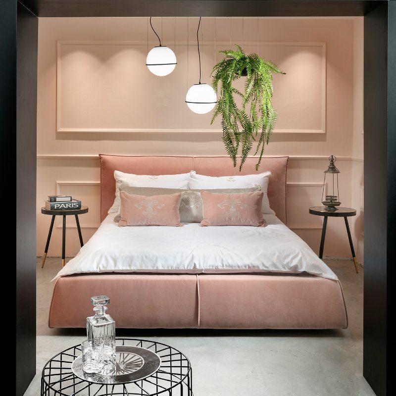 חדר שינה מעוצב בקסטר