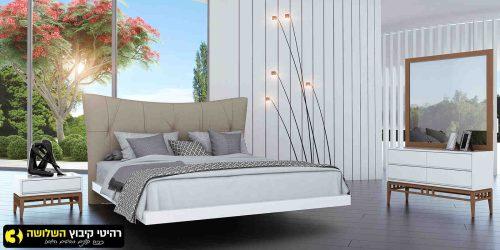 חדר שינה מעוצב בריסל