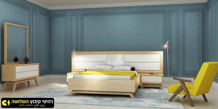 חדר שינה מעוצב חושן