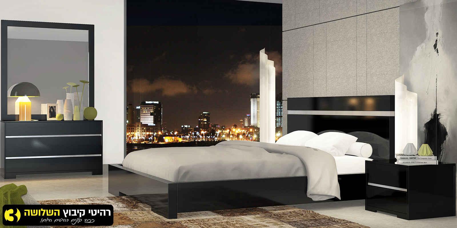 חדר שינה מעוצב ניקל עדן