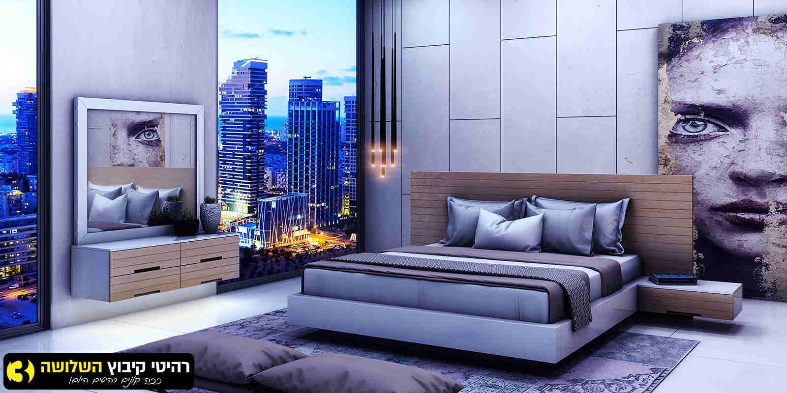 חדר שינה מעוצב סוהו