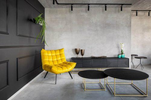 כורסא מעוצבת דאצ'ה