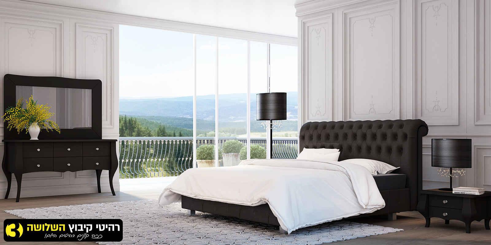 חדר שינה מעוצב צ'סטר