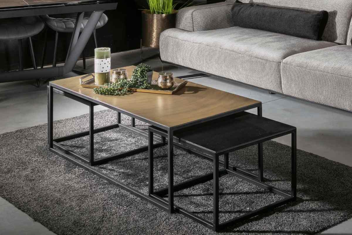 שולחן סלון טריפל