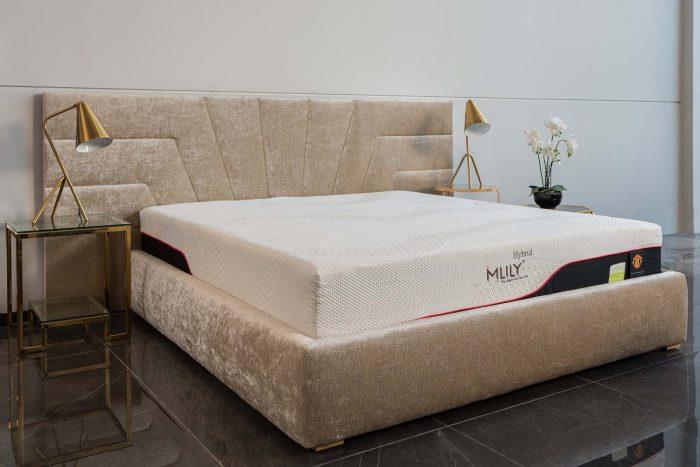 חדר שינה מעוצב גולד
