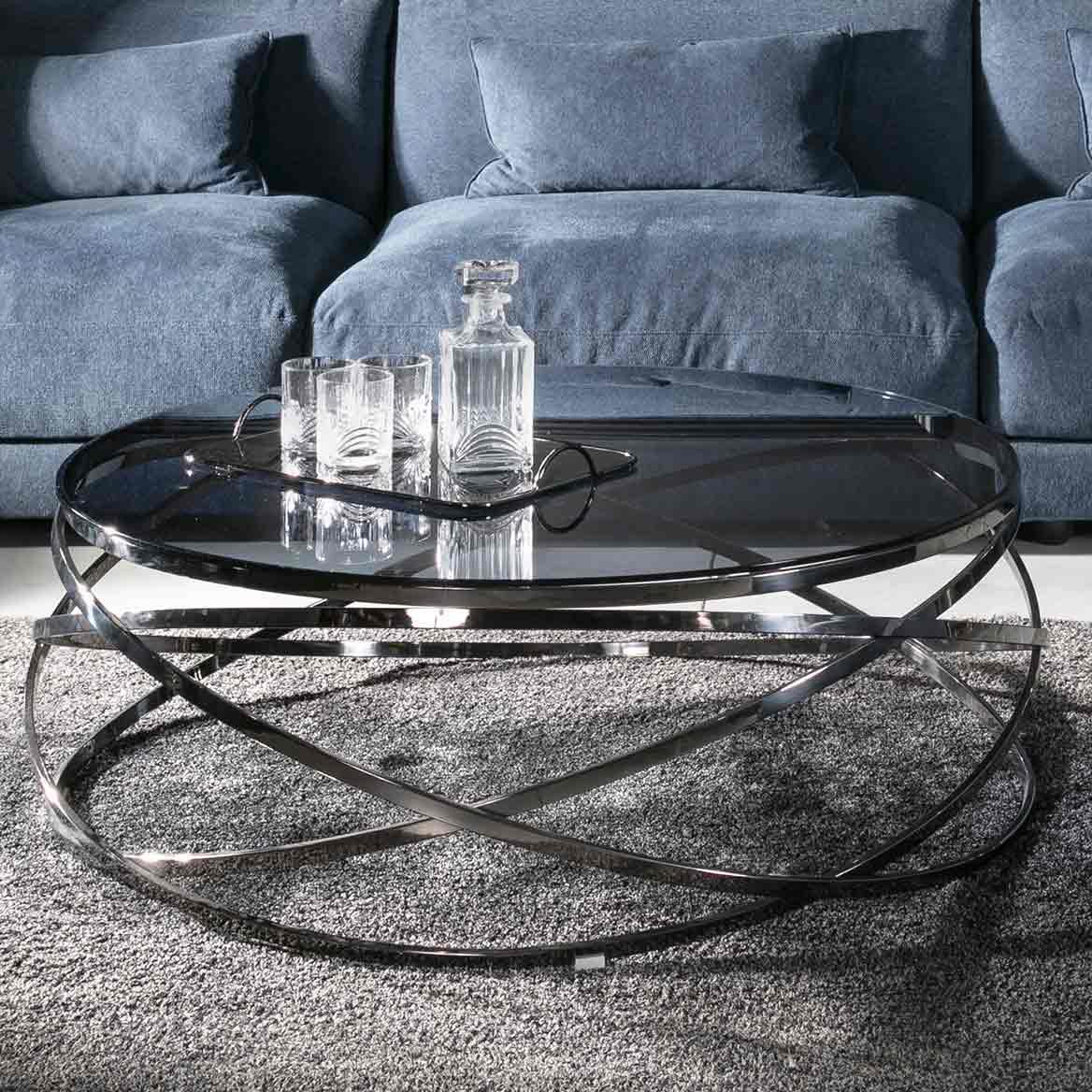 רהיטי קיבוץ השלושה שולחנות סלון מזכוכית